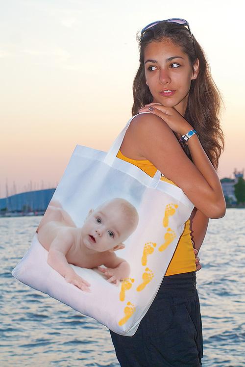 Strand- és bevásárló táska