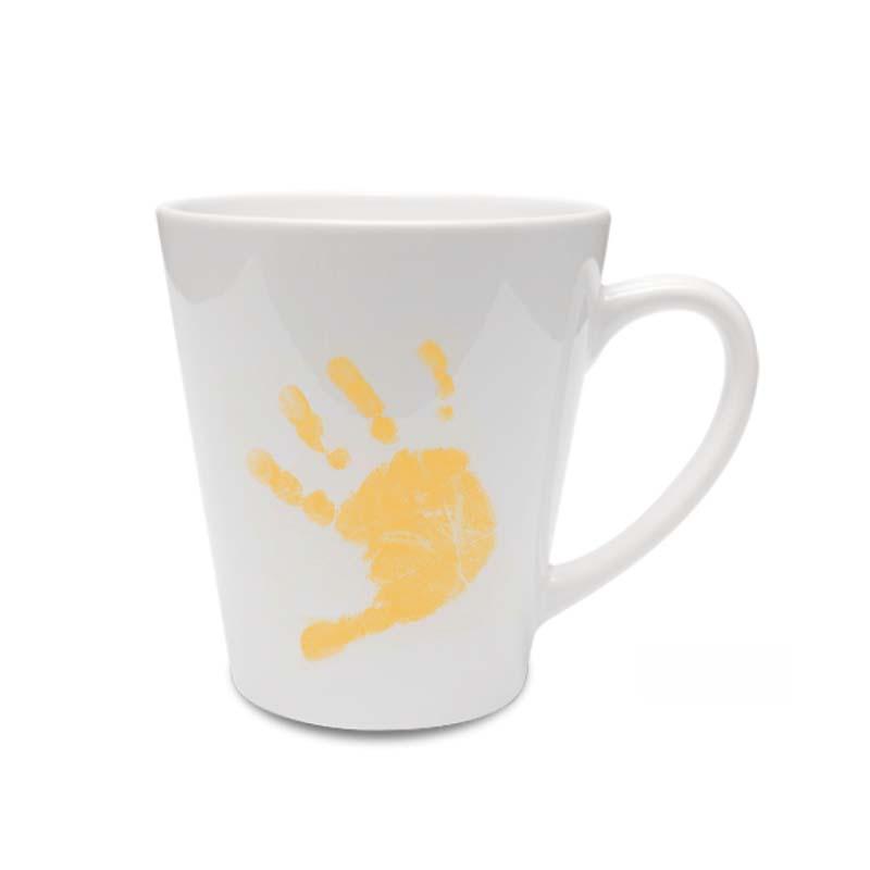 Praclis latte bögre - fehér