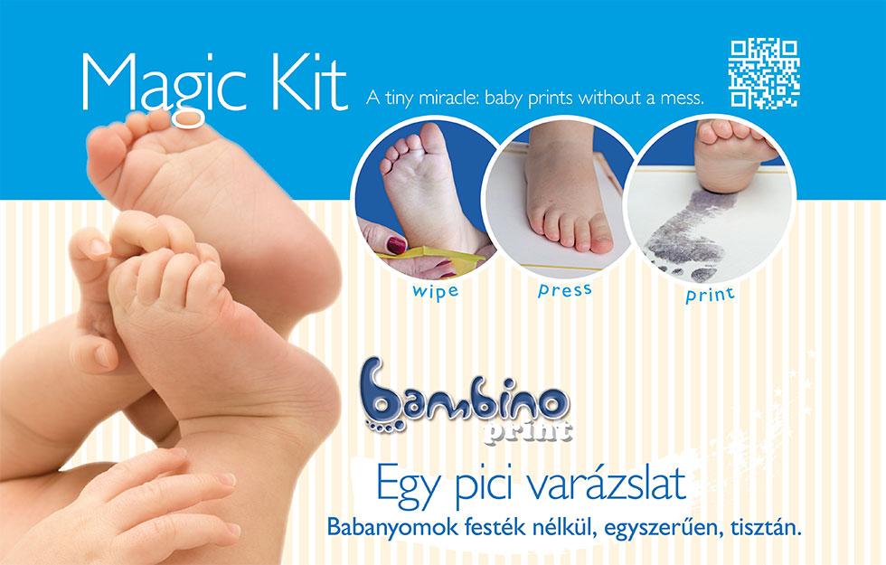 ELFOGYOTT ! - Bambinoprint készlet KARLALINA Babanaplóval