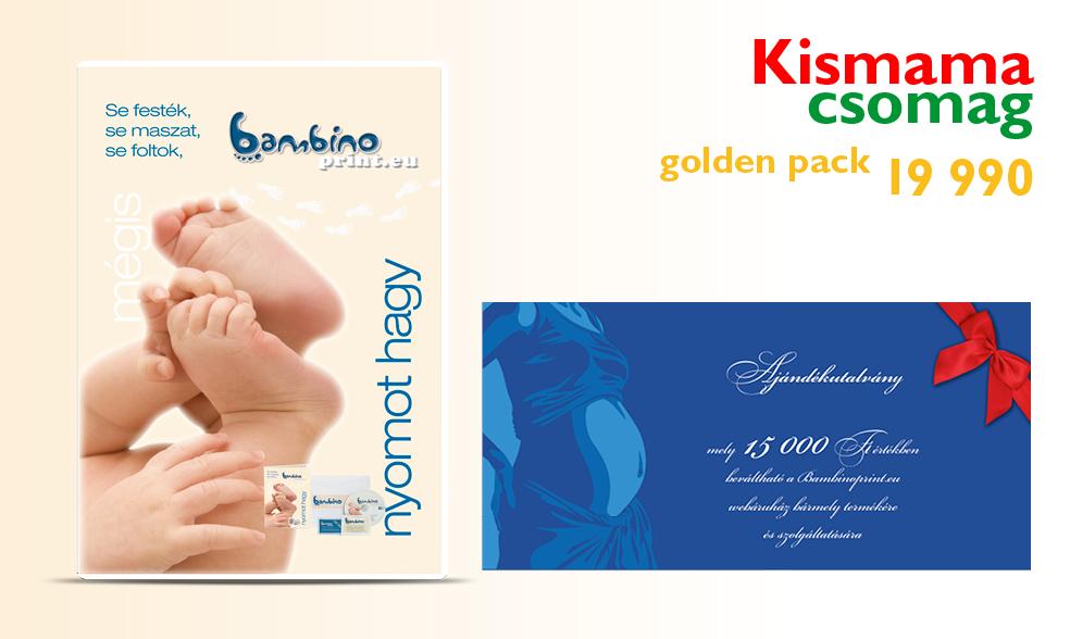 Kismama csomag golden pack