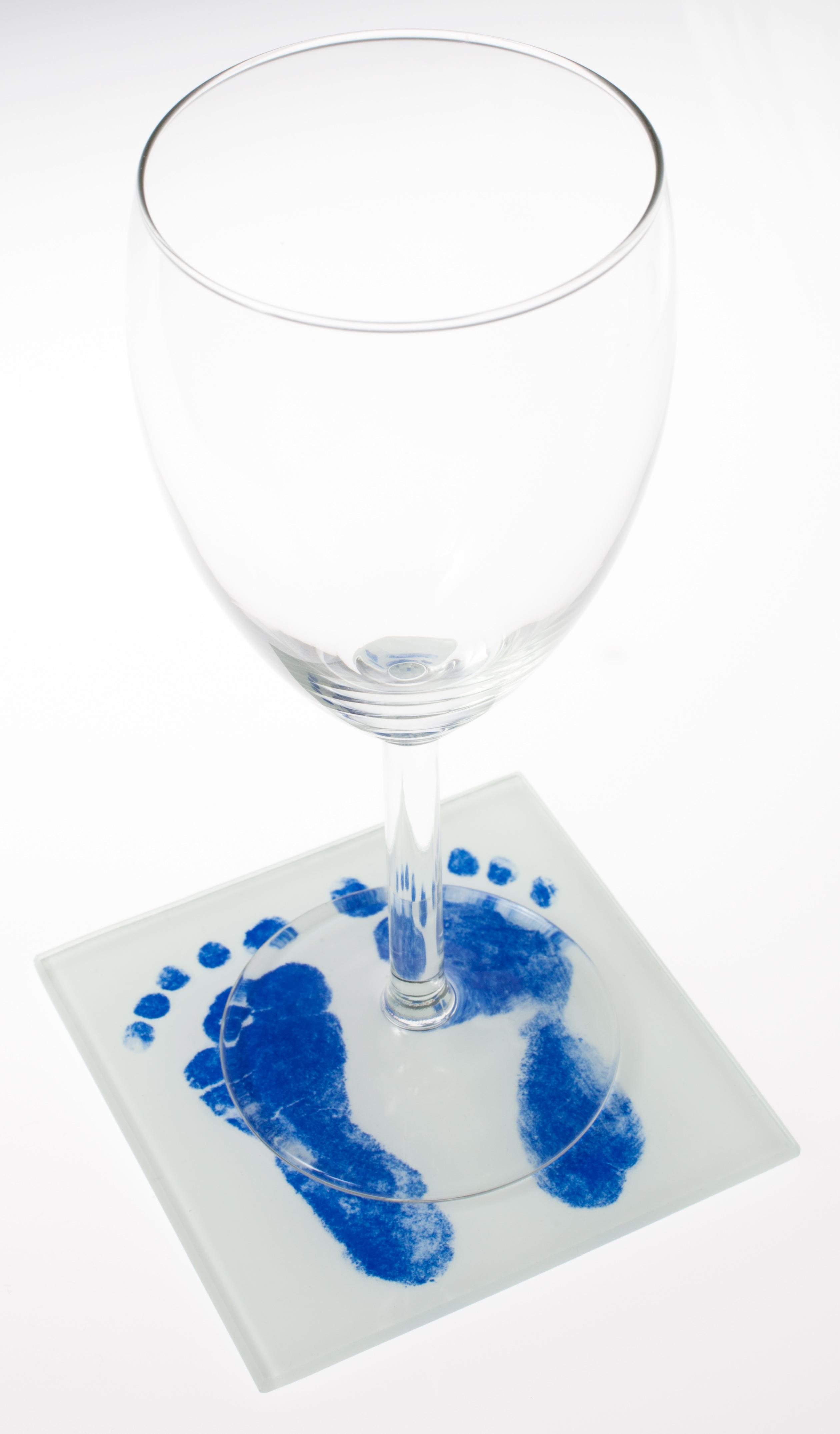 ÚJDONSÁG! - Tappancsos üveg poháralátét készlet